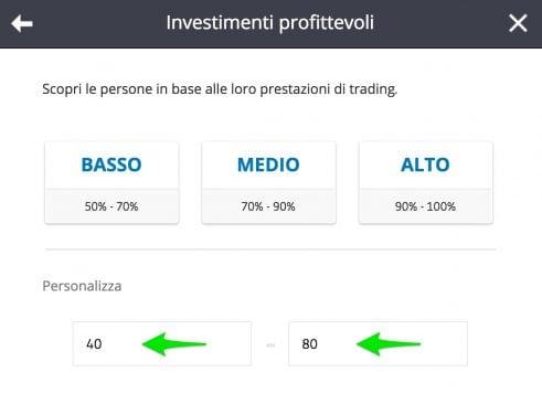 investire in eToro