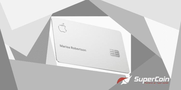 apple card, carta di credito apple