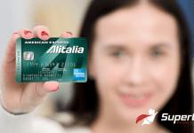 Carta Alitalia Business American Express, American Express Alitalia Business Verde
