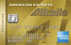 American Express Business Alitalia Oro