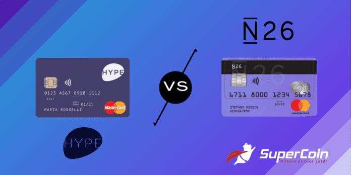 Hype o N26, hype vs n26